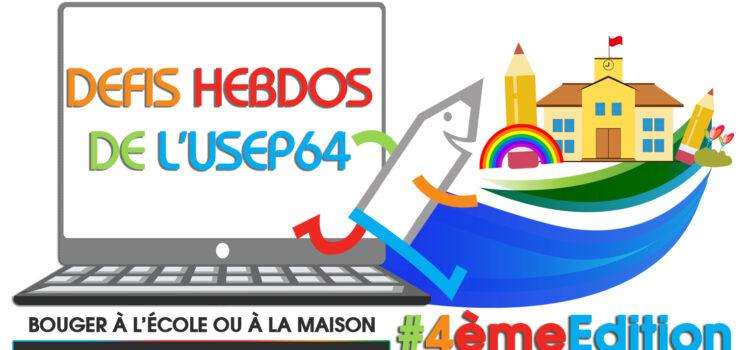 Les défis hebdomadaires de l'USEP 64